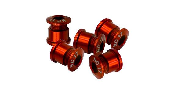 NC-17 Kedjekransskruv 4 och 5 hål röd